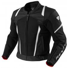 Куртка REV'IT GALACTIC текстиль\кожа black\white