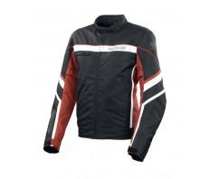 Куртка BERING текстиль SWEEK black\white\red