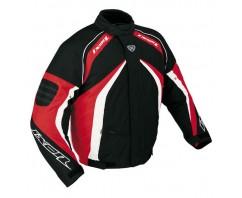Куртка Ixon SHURIKAN BLACK/RED/WH текстиль