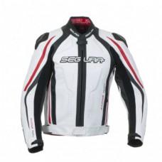 Куртка SEGURA кожа S RACE black/red/white