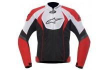 Куртка Alpinestars T-GP R Air  BLACK/RED/WHITE
