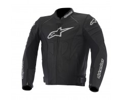 Куртка Alpinestars GP PLUS R black perforated кожа