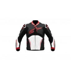 Куртка Alpinestars ATEM кожа black/white/red