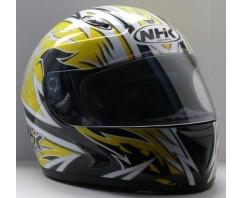 Шлем NHK 308 AXIS черн/желт