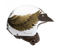 Шлем NEXX X60 EAGLE RIDER White/Gold