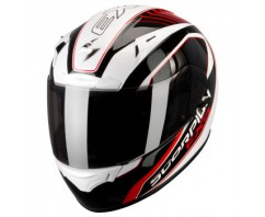 ШЛЕМ SCORPION EXO-2000 AIR PERFORMER Pearl White/Black/Red Type E11
