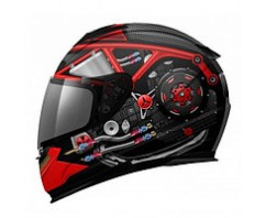 Шлем MT LIGHTNING POWER HOUSE black\red