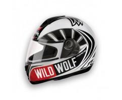 Шлем AIROH ASTER-X WILD WOLF